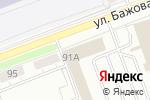 Схема проезда до компании ideя! в Челябинске