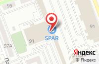 Схема проезда до компании Вымпел в Челябинске