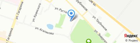 Гейзер на карте Челябинска