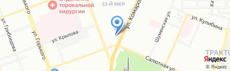 Мастер крепежа и инструмента на карте Челябинска