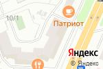 Схема проезда до компании Дверона в Челябинске