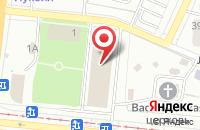 Схема проезда до компании Сити Блюз в Челябинске