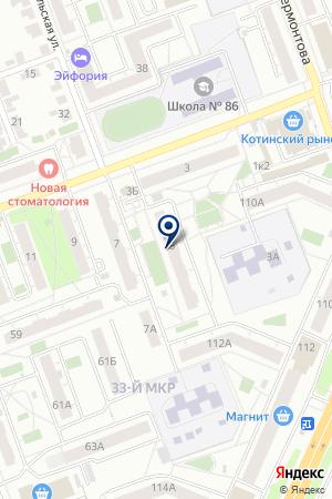 КЛУБ ЛЮБИТЕЛЕЙ ЖИВОТНЫХ ВЕЛЕС–VET (ВЕЛЕС-ВЕТ) на карте Челябинска