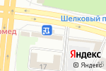 Схема проезда до компании Jeans в Челябинске