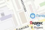 Схема проезда до компании Фасадный Мир в Челябинске