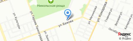 СапСан на карте Челябинска