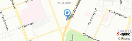 Онлайн-Трейд на карте Челябинска