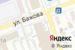 Схема проезда до компании Братич в Челябинске