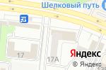 Схема проезда до компании Давай, заглянем у Василия в Челябинске