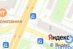Схема проезда до компании Киоск по продаже мороженого в Челябинске