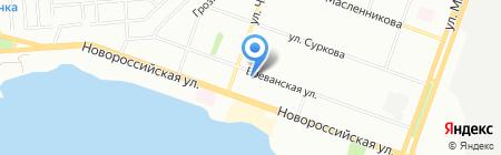Санвентстрой на карте Челябинска