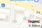 Схема проезда до компании Метиз Строй в Челябинске