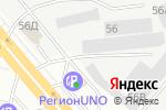 Схема проезда до компании Атланта в Челябинске