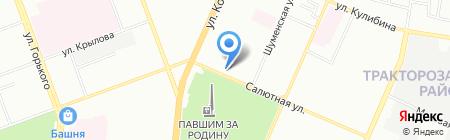 ПСС на карте Челябинска