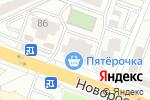 Схема проезда до компании Подовинновское Молоко в Челябинске