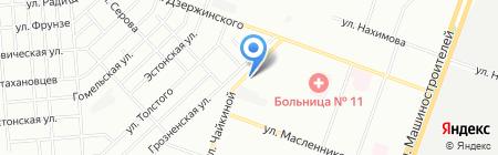 Абсолют Актив на карте Челябинска