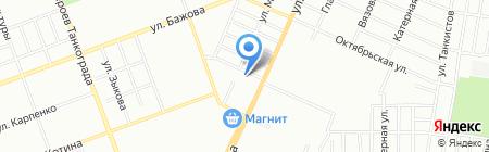 Охранное видео.рф на карте Челябинска