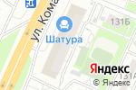 Схема проезда до компании Лером в Челябинске