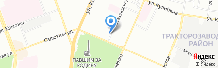 Огонёк на карте Челябинска