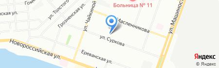Детский сад №368 Росинка на карте Челябинска