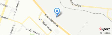 АВС-Моторс автосалон Lifan Geely на карте Челябинска