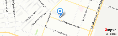 Поплавок на карте Челябинска