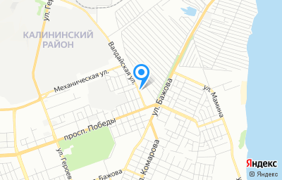 Местоположение на карте пункта техосмотра по адресу г Челябинск, ул Валдайская, д 25