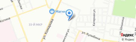 Детский сад №418 на карте Челябинска