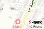 Схема проезда до компании Эталон в Челябинске