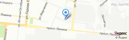 Сертификационный центр автотракторной техники на карте Челябинска