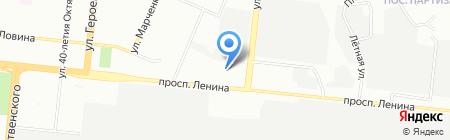 Кенгуру на карте Челябинска