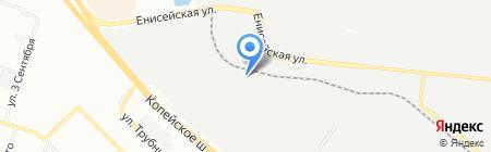 Промэнерго на карте Челябинска