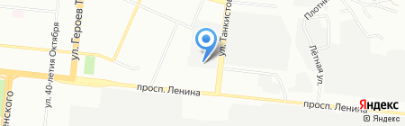 Буковки 74 на карте Челябинска