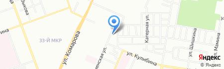 Крокодил на карте Челябинска