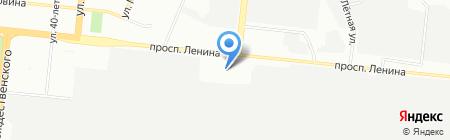 Тойота Центр Челябинск на карте Челябинска