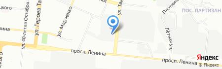 УралМет на карте Челябинска