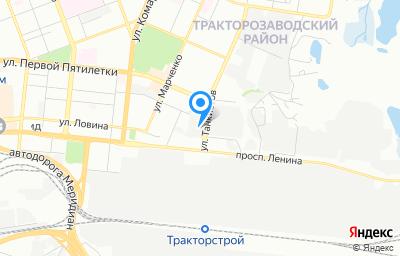 Местоположение на карте пункта техосмотра по адресу г Челябинск, пр-кт Ленина, д 2Л стр 1
