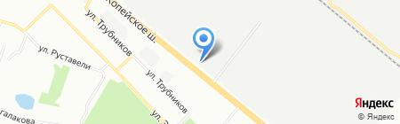 Уралавтодор на карте Челябинска