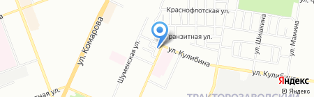 Джелли на карте Челябинска