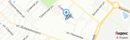 Пекарня на карте Челябинска