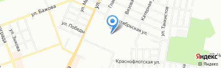 Велли на карте Челябинска