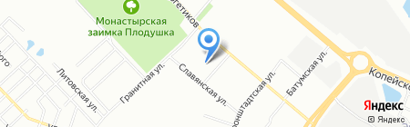 Детали Автогрейдера на карте Челябинска