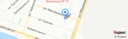 Люкс вода на карте Челябинска