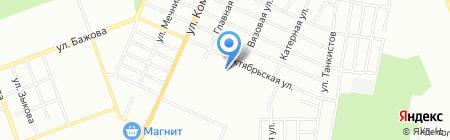 Магазин разливного пива и рыбы на карте Челябинска