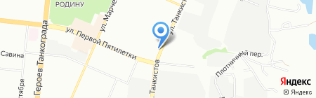 БЛиКС на карте Челябинска