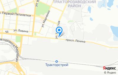 Местоположение на карте пункта техосмотра по адресу г Челябинск, пр-кт Ленина, д 2Л