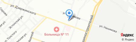 Стоматологическая поликлиника №4 на карте Челябинска