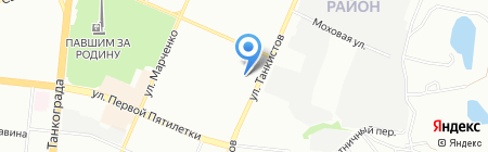 Порт на карте Челябинска