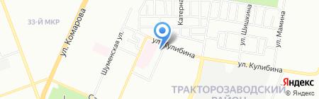 Память на карте Челябинска