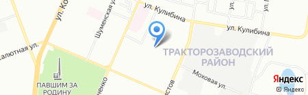 Учебный центр Марины Волковой на карте Челябинска